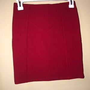 Forever 21 Red Mini Skirt!